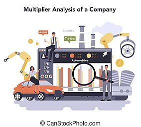 Car and motorcycle production industry online service or platform