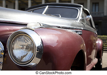 car, antiquado