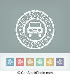 Car assistance print