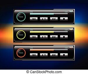 car audio icons