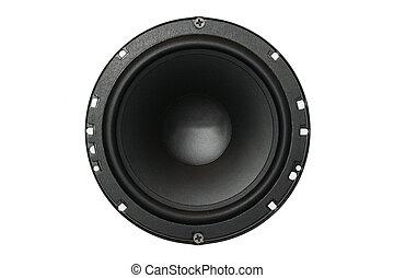 Car audio system component. Loud speaker