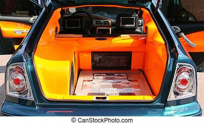 Car audio - Powerful style car audio system