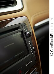 Car Audio System - In-Dash Car Audio System Details Photo....