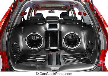 car audio system - car power audio system