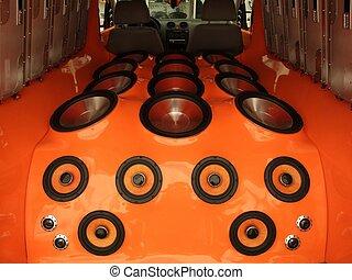 car audio system - car luxury audio system