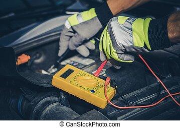 Car Battery Measurement