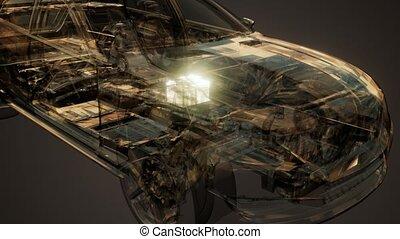 Car Battery Visible in Car - car battery visible in...