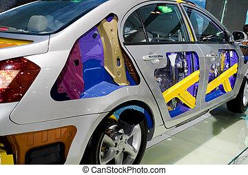 Car body safety bumper