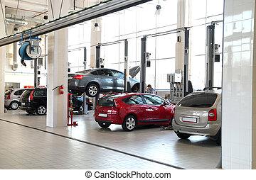 car-care, 車間