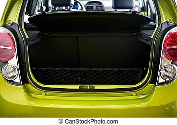 Car Cargo Area - Car Trunk - Small City Car Cargo Area - ...