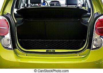 Car Cargo Area - Car Trunk - Small City Car Cargo Area - ...
