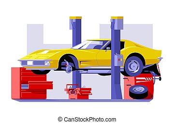 Car checking service