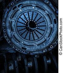 Car clutch disk - Close op of car clutch disk