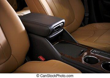 car, couro, assentos