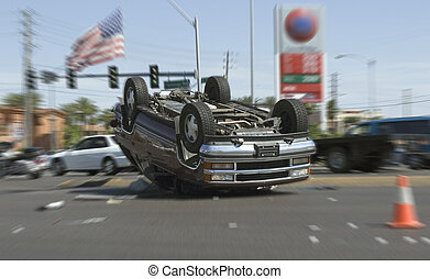 car crash in las vegas