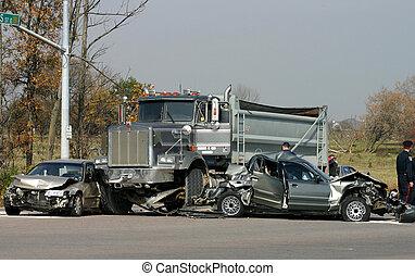 Multiple Car crash