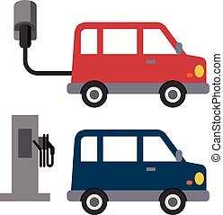 car, débito, elétrico
