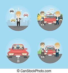 Car deal set.