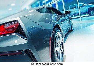 Car Dealer Showroom Sale. Brand New Car For Sale.
