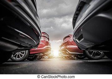 Car Dealership New Stock