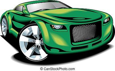 car, desenho, original, meu