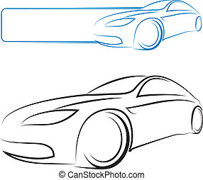 car design for vector - Design for auto business
