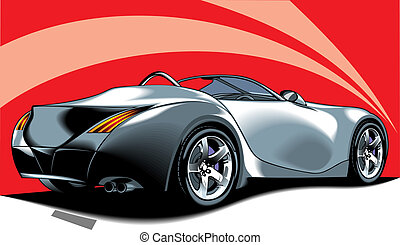 car design - illustrated nice car from my dream as...
