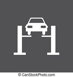 Car diagnostics icon