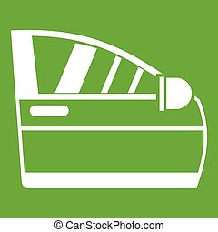 Car door icon green