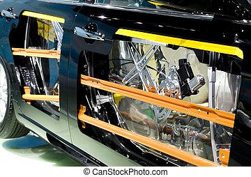 Car doors safety bumper