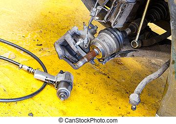 Car drive shaft