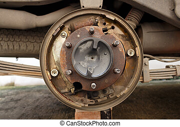 Car drum break system