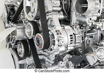 Part of car engine