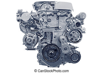Car engine.
