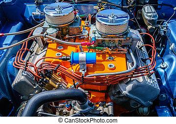 Car engine details