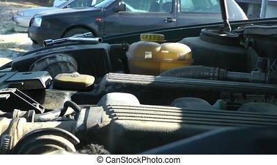 Car engine Heat