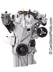 car engine isolated on white