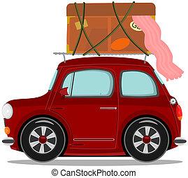Car - Small cartoon car
