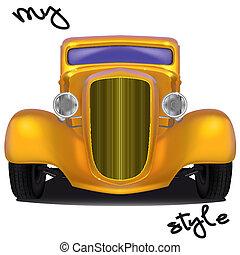 car, estilo, meu