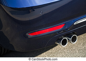 Car exhaust