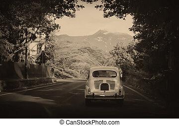 car, fashioned velho