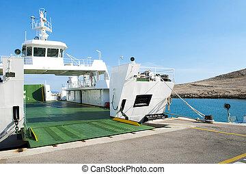 Car Ferry Boat