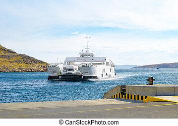 Car Ferry Boat Croatia