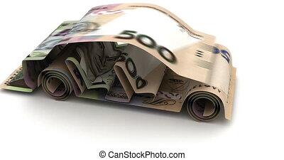 Car Finance with Ukrainian Hryvnia