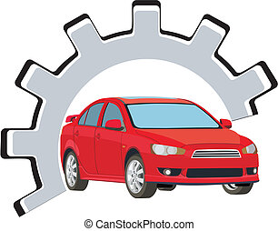 car fix - sign repair and service vehicles