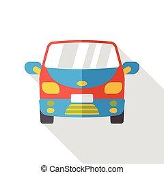 car flat icon