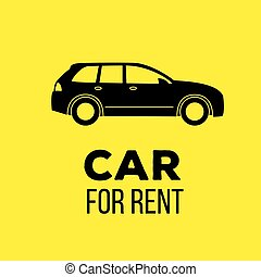 car for rent icon