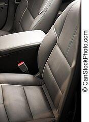 car, frente, assentos