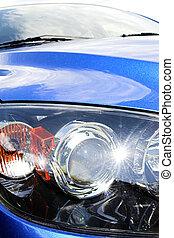 car front lights