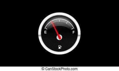 Car Fuel Dashboard